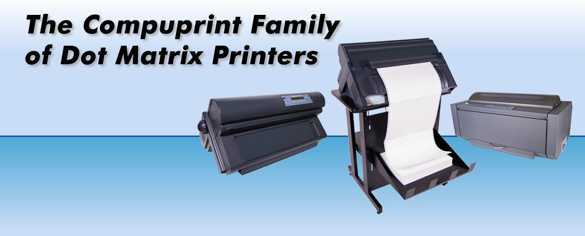 The Compuprint Dot Matrix Printer Family